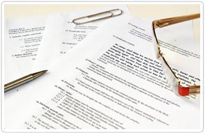 Financial Legal Forms