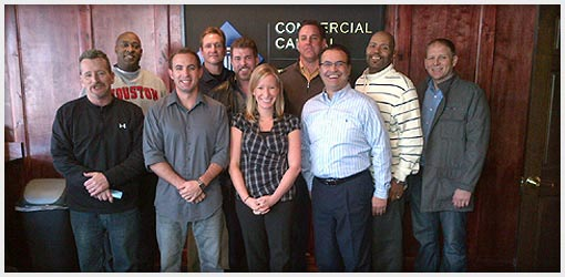 Commercial Capital Training Group - January 2012 Graduates