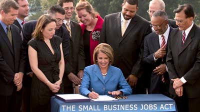 Small Business Lending Bill