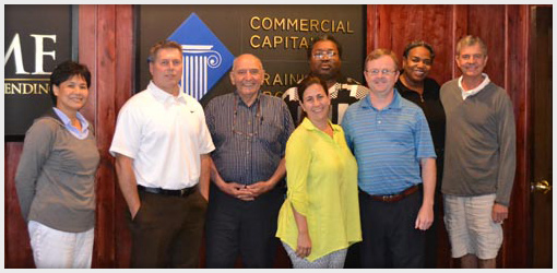Commercial Capital Training Group - July 2013 Graduates