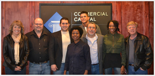 Commercial Capital Training Group - February 2013 Graduates
