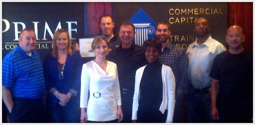 Commercial Capital Training Group - November 2012 Graduates