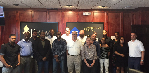Commercial Capital Training Group Graduates August 2017