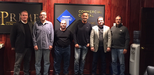 Commercial Capital Training Group Graduates November 2017